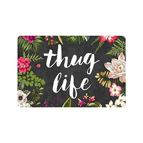 Thug Life Door Mat