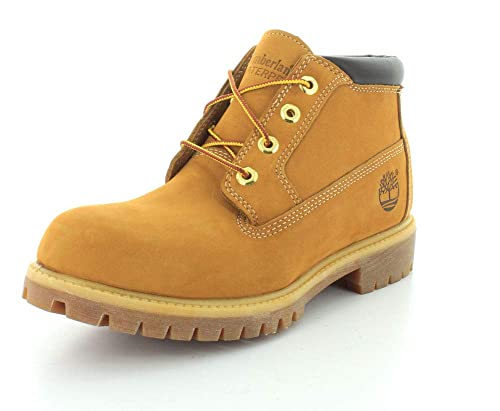 Timberland Premium Waterproof Chukka Color: Wheat Nubuck Width: Wide Mens Size: 7.5