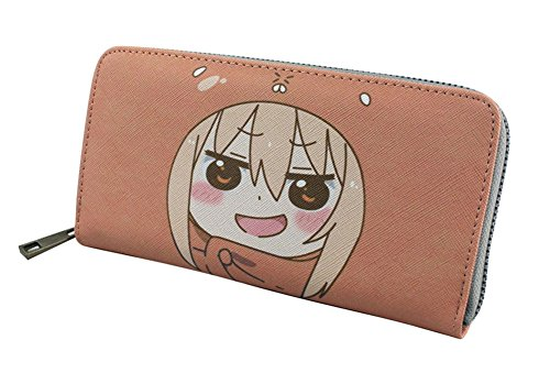 Doma Leather - Gumstyle Himouto! Umaru-chan Anime Cosplay Zipper Wallet Long Clutch Purse Card Holder