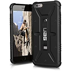 UAG iPhone 6 Plus / iPhone 6s Plus [5.5-inch screen] Feather-Light Composite [BLACK] Military Drop Tested Phone Case