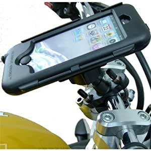 Ultimate Addons Metal U-Bolt Motorcycle Bike Waterproof Tough Case Handlebar Mount for Apple iPhone 5