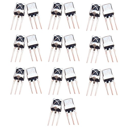Optimus Electric 20pcs Universal Infrared IR Receiver TL1838 with 15m Sensing Distance and Steel Head Case for Remote Control Systems Devices from - Optimus Receivers