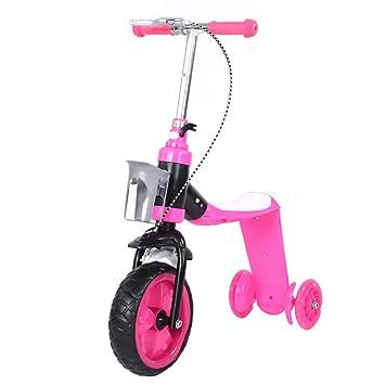 Cocoarm Patinete Scooter para Niños Patinete de 3 Ruedas ...