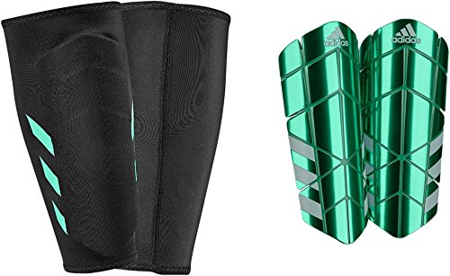 adidas Performance Ghost Pro Shin Guards, Light Green, X-Large