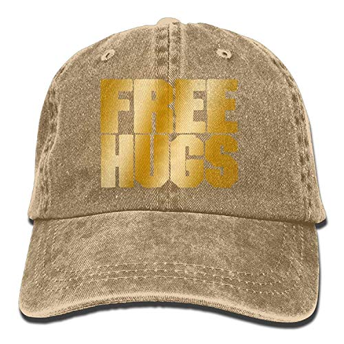 Cowgirl Cowboy DEFFWB Skull Cap Hats Free Hugs Men Women Sport for Denim Hat wYrIHqY0