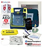Cabinet & Cardiac Science SEMI & 9131 Electrodes and Rescue Ready kit w/ Signs