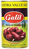 Galil Pickled Eggplant, 23 Ounce (Pack of 12)
