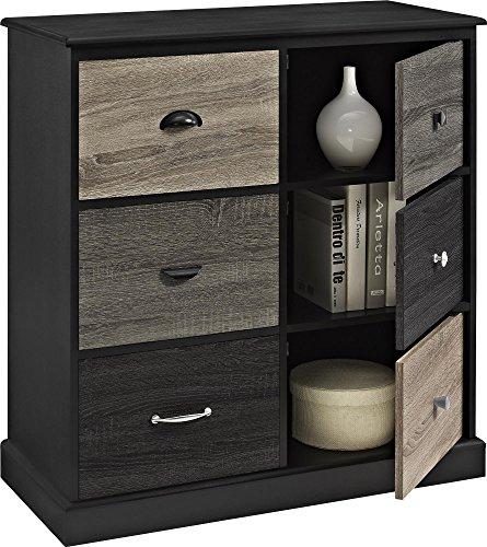 Altra Blackburn 6 Door Storage Cabinet With Multicolored