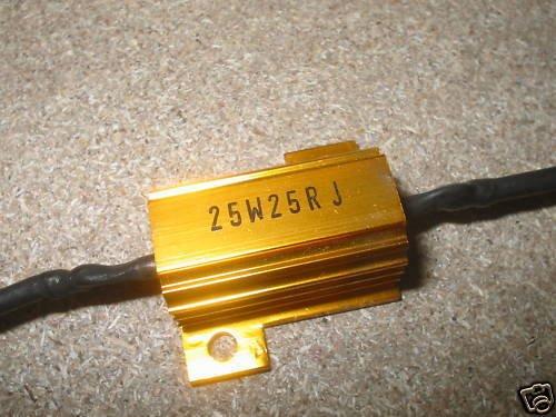 aftertech® Résistance de puissance Corazzata 25ohm 25W 25W