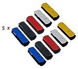 FEBNISCTE Pack of 50 Swivel USB 2.0 256MB (Not 256GB) Flash Drive Memory Stick
