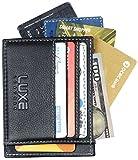 Luxe Leather Front Pocket Slim Minimalist Wallet for Men & Women - New &...