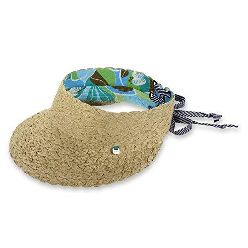 - Pistil Women's Rita Visor Hat, Natural