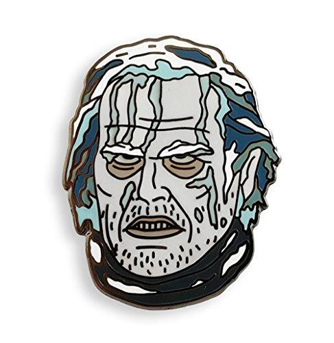 Pinsanity Frozen Jack Torrance Horror Enamel Lapel Pin