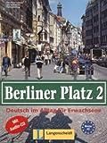 Berliner Platz 2. Lehrbuch, Arbeitsbuch und CD, Theo Scherling, 346847850X