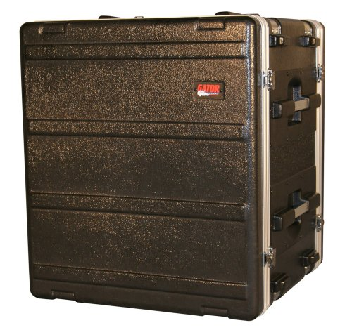 (Gator Cases Lightweight Molded Shock Rack Case with 16.5
