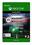 xbox electronic card - Madden 18 - 2200 Ultimate Team Points - Xbox One [Digital Code]