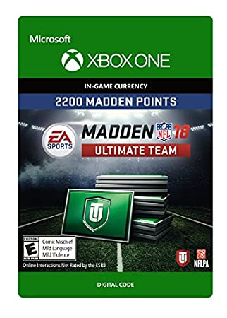 Madden NFL 18: MUT 2200 Madden Points Pack - Xbox One [Digital Code]