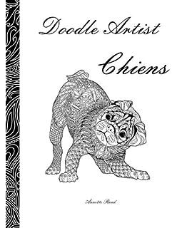 Coloriage Chien Bichon.Amazon Fr Le Petit Livre De Coloriage Chiens Collectif Livres