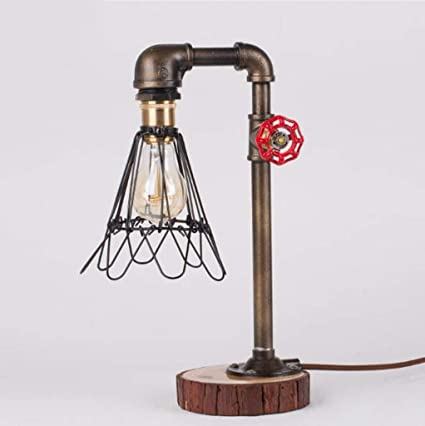 Amazon.com: LUHEN Nordic creative lamp Vintage industrial ...