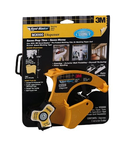 3M Hand-Masker Dispenser (3m 3 4 Automotive Masking Tape)
