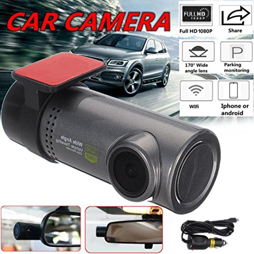 Ltrotted HD 1080P Hidden Car WIFI DVR Vehicle Camera Video Recorder ,Dash Cam