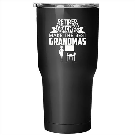 Amazon.com: Jubilado profesor hacer el mejor Grandma s vaso ...