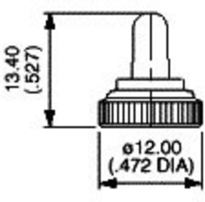U1343 Dichtkappe Schwarz Schwarz 1 St. Unbekannt APEM U1343
