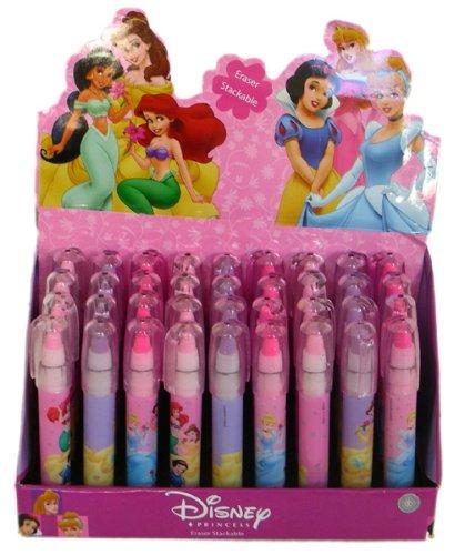 (Disney Princess Pen Style Cartridge Eraser set)
