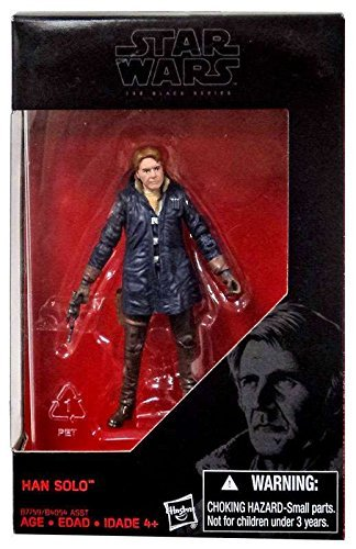 Star Wars, 2016 The Black Series, Han Solo Starkiller Base (The Force Awakens) Exclusive Action Figure, 3.75 Inches