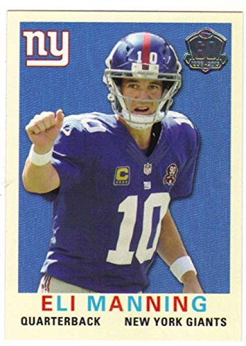 2015 Topps 60th Anniversary Throwbacks #T60-EM Eli Manning NY Giants NFL Football NM-MT