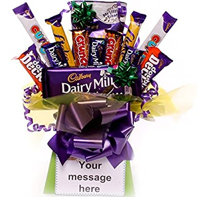 65461513057f Treat Time Chocolate Bouquet Personalised