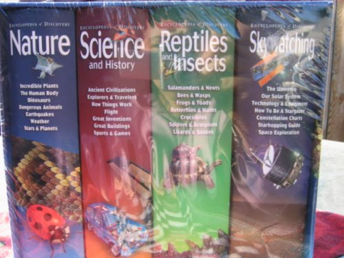 ENCYCLOPEDIA of DISCOVERIES : 4-BOOK-BOX SET (4-Volume-set: Nature, Science and History, Reptiles and Insects, Skywatching) pdf epub