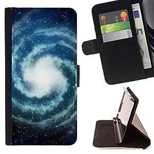 For LG G4 Stylus / G Stylo / LS770 H635 H630D H631 MS631 H635 H540 H630D H542 Case , Milky Way Universo Estrellas Espacio- la tarjeta de Crédito Slots PU Funda de cuero Monedero caso cubierta de piel