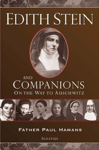 edith stein essays Catholic church, most of the writers on edith stein know about and focus more on  her death than on her life or her writings only after she was proclaimed a.