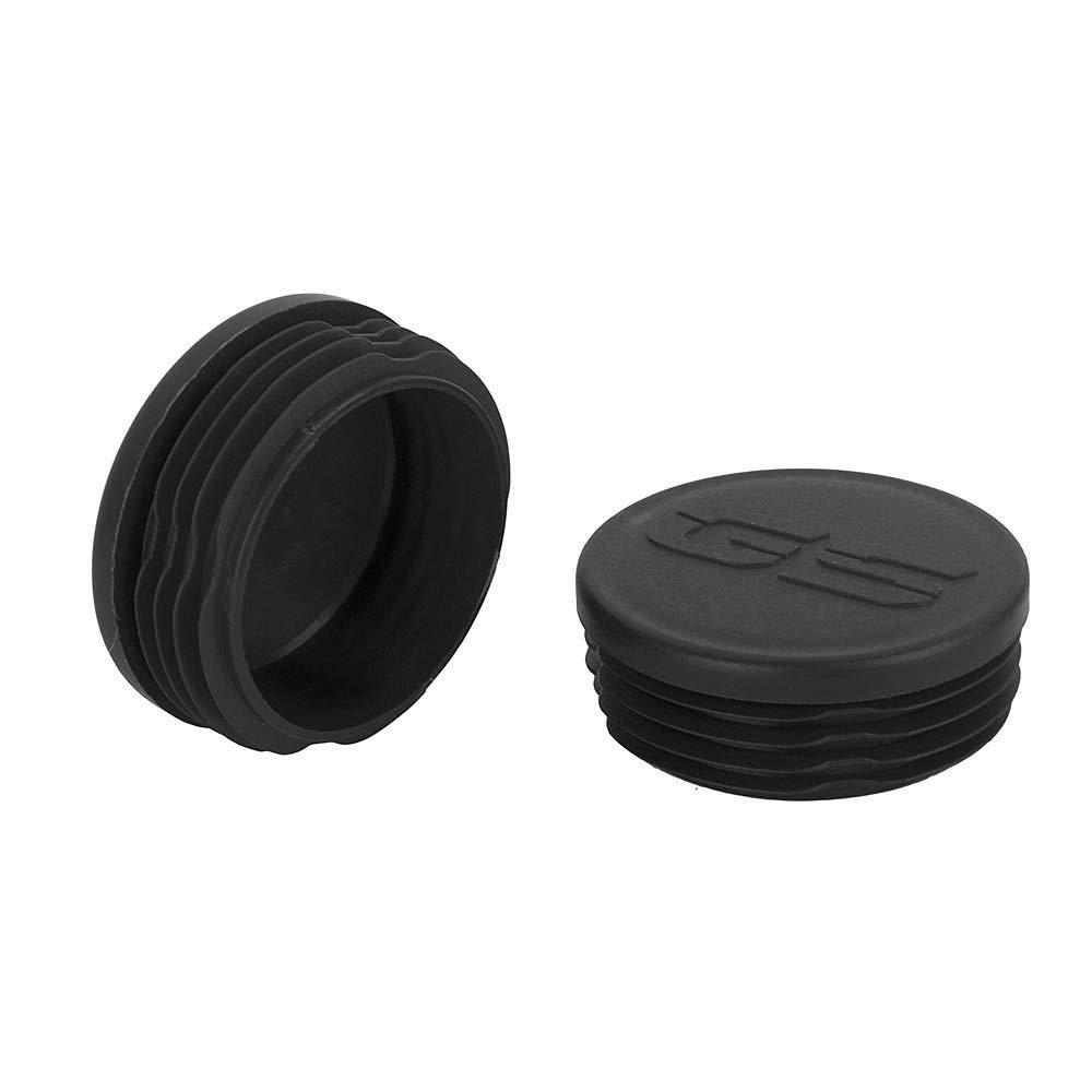 Kit de enchufe de cuadro tapas de los extremos del marco Conjunto de cubierta decorativa para R1200GS LC 2013-2016 Negro