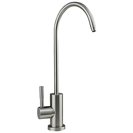 HOMY Drinking Water Faucet, Stainless Steel Single Handle Beverage Purifier  Faucet For Kitchen Undersink Filters