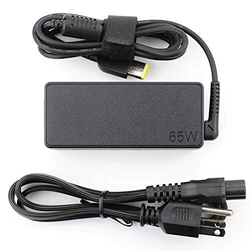 Lenovo ThinkPad 65W Laptop AC Adapter Charger 0A36258 (Slim Tip) 20V 3.25A