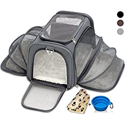 Cat Carrier Dog Carrier Pet Carrier - Small Pet Carrier for Cats - Small Dog Carrier Airline Approved Pet Carrier Under Seat Approved Pet Carriers for Small Dogs - Travel Pet Carrier Airline Approved