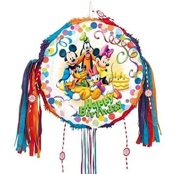 PARTYRama Piñata de Mickey Mouse y Sus Amigos con Texto en ...