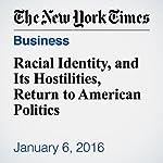 Racial Identity, and Its Hostilities, Return to American Politics | Eduardo Porter