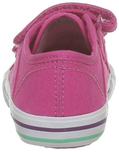 Le Coq Sportif Saint Malo Inf Strap 1310998_COQ - Zapatillas de tela para bebé, color negro, talla 21 Fuchsia Purple
