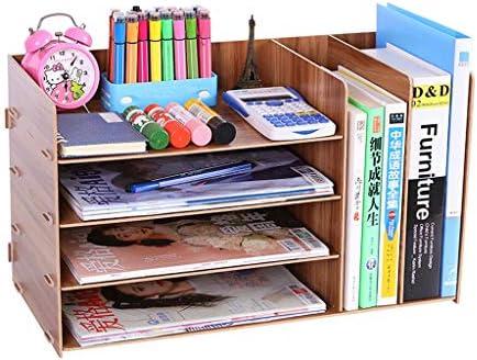 Ordner LF- Aktenordner Einfaches Bücherregal Mehrlagiger Aufbewahrungsbox Schubladenbox aussortieren (Color : A)