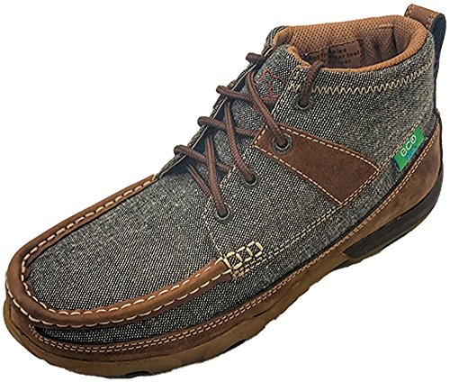 Twisted X WDM0094 Women's Eco twx Driving Moc, Dust/Brown - 8 M by Twisted X