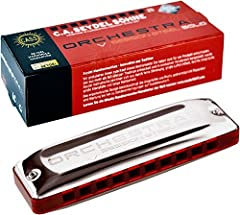 ORCHESTRA S Session Steel Harmonica Key of Low C. The ORCHESTRA S Session Steel Harmonica is a 10-hole, solo-tuned harmonica (orchestra-tuning). As with the chromatic harmonica, all notes from the major scale are available throughout a two-an...
