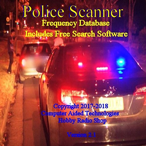 Police Scanner Single State Frequency Database on CD