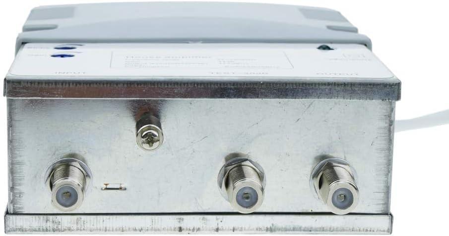 BeMatik - Amplificador de antena TV TDT DVBS para pequeñas comunidades colectivas 47-790 MHz