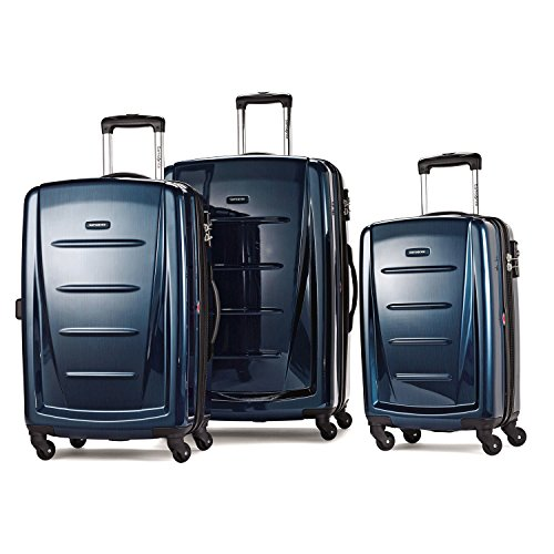 Samsonite Winfield 2 Fashion 3 Piece Spinner Set Deep Blue