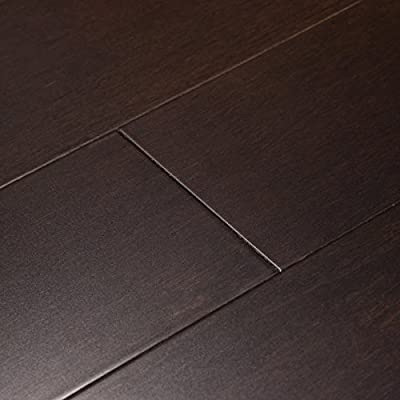 Cali Bamboo - Solid Wide Click Bamboo Flooring, Black Coffee - Sample