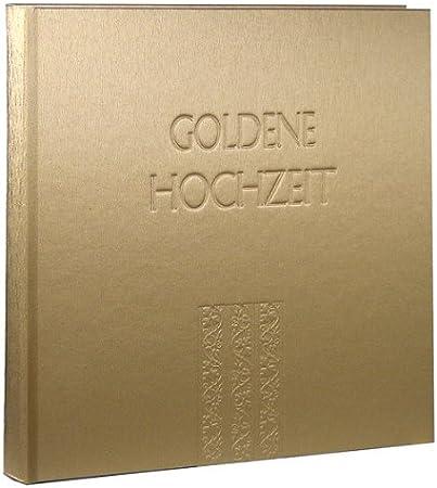Schleizer Alben Goldene Hochzeit Metallic Gold Amazonde