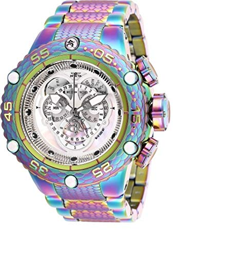 Invicta Men's 50mm Subaqua Noma VI Swiss Quartz Master Calendar Chronograph Iridescent Watch